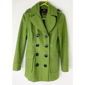 M60 Miss Sixty Nordstrom green wool pea coat